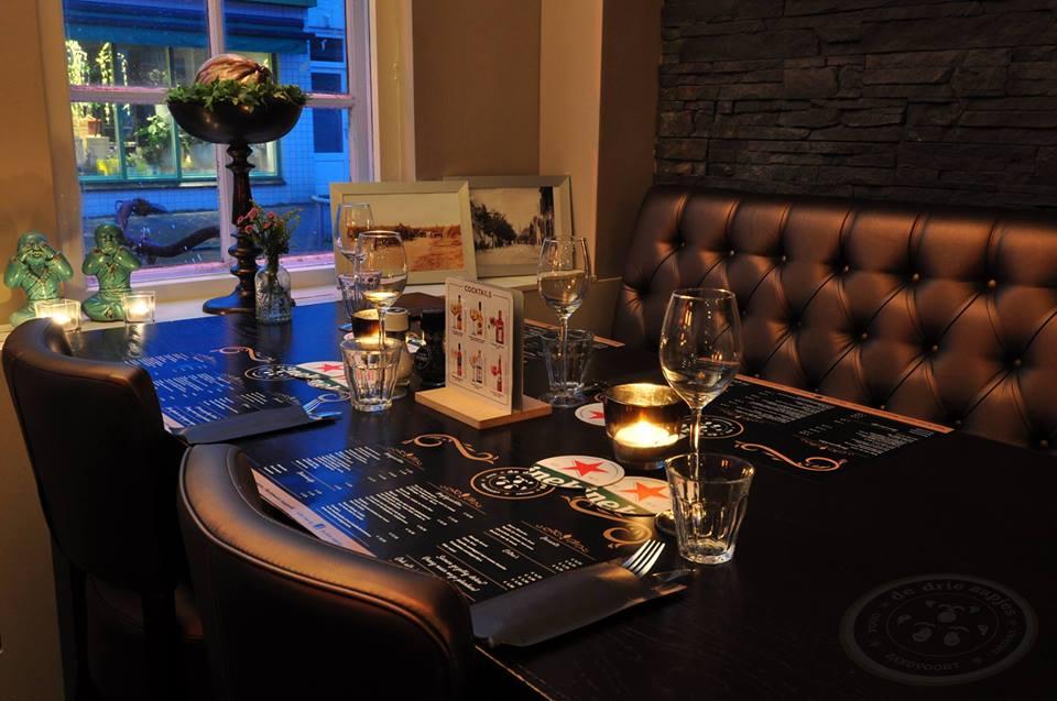 Restaurant De Drie Aapjes Zandvoort