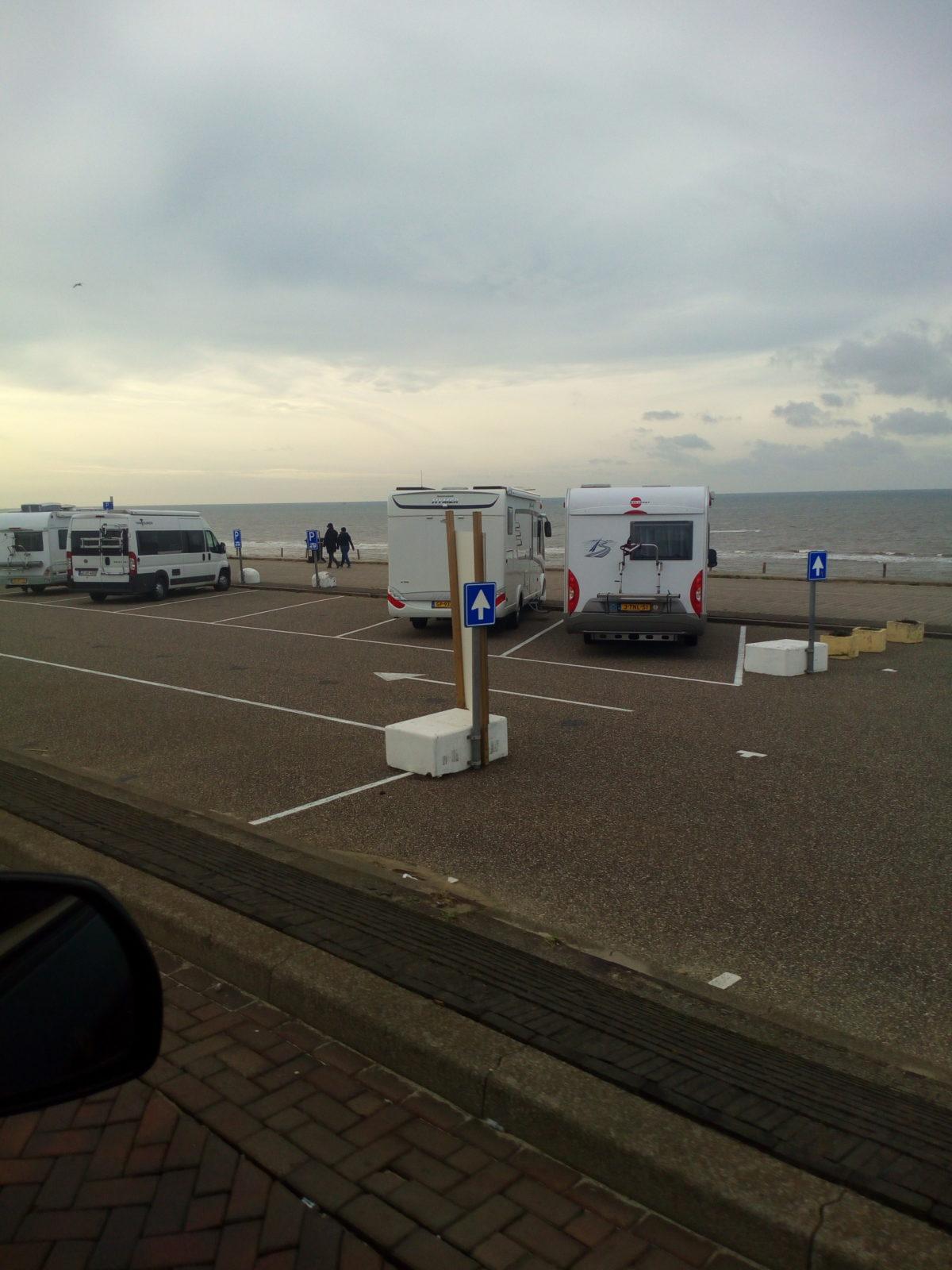 Camper parkeerplaats Zandvoort Boulevard