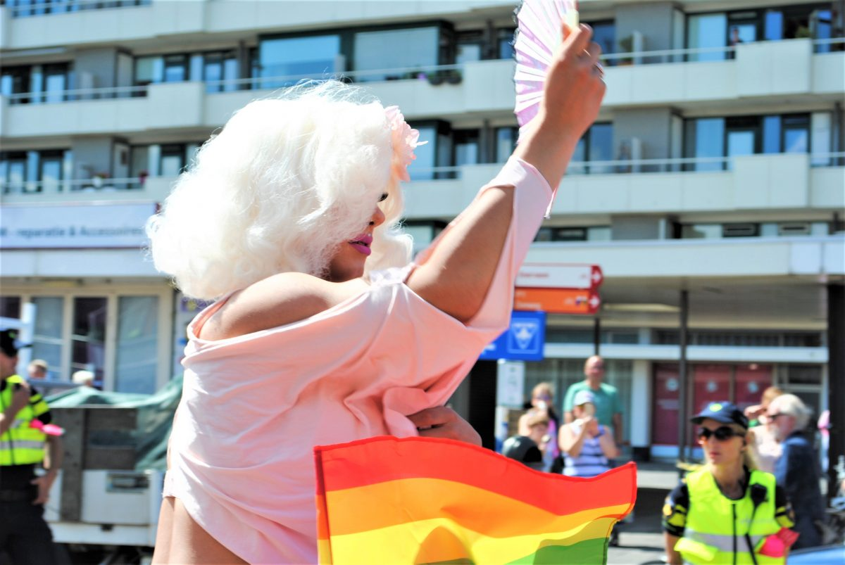Gay Pride at the Beach Zandvoort aan Zee 2018